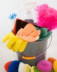 personal de limpieza en Gran Bretaña