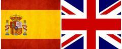 españa y reino unido banderas